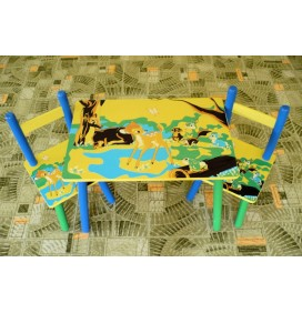 Masuta Copii cu scaunele Bambi