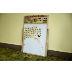 """Tablita de Scris Magnetica cu Numaratoare """"Education Board"""" Marime Mare"""