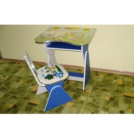Birou Pentru Copii Reglabil cu Numaratoare