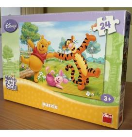 Puzzle cu Winnie si prietenii lui