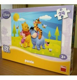 Puzzle Winnie the Pooh si primavara