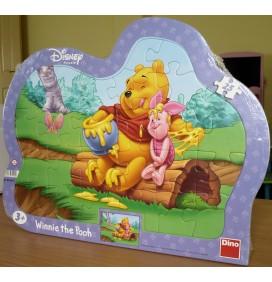 Puzzle cu Winnie si mierea lui