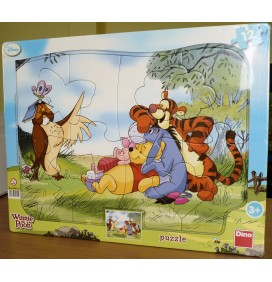 Puzzle Winnie the Pooh 12 piese