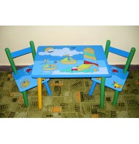 Masuta Copii cu scaunele Vaporase