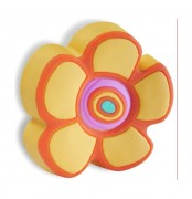 Butoni Mobila Floare Portocalie