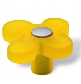 Butoni Mobila Floare Galbena