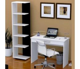 Birou laptop cu etajeră LUCAS